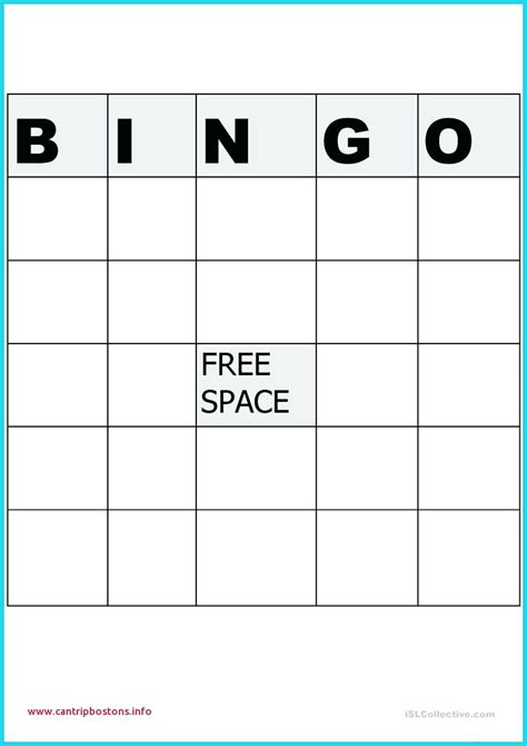 microsoft word bingo card template blank bingo card template microsoft word fresh bingo