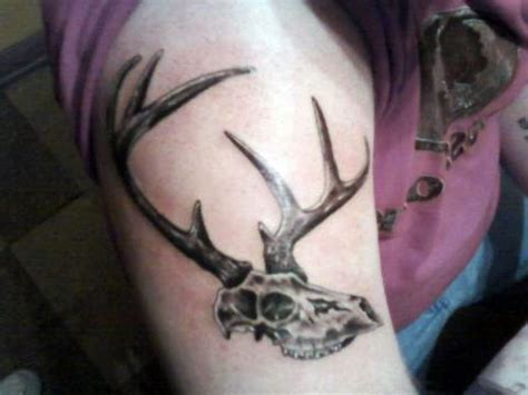 deer skull tattoo tattoos of deer skulls cool tattoos bonbaden