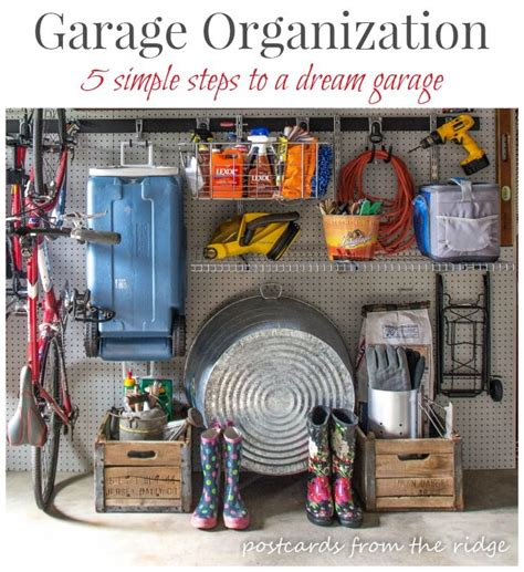 Best Way To Organize A Garage by 30 Best Images About Garage Outdoor Organization On
