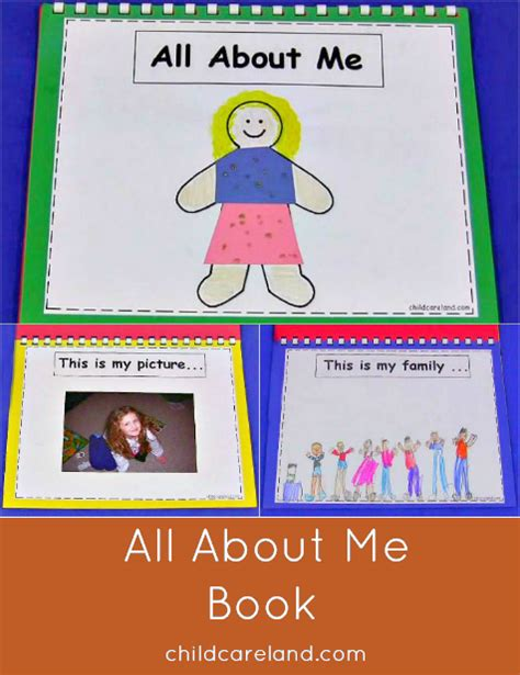and me books all about me book