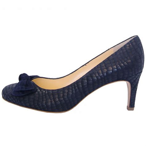 navy shoe kaiser baska navy notte musti laser treated suede