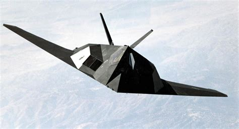 Out of Retirement: US F-117 Jet That Bombed Yugoslavia ... F 117 Stealth Fighter Cockpit