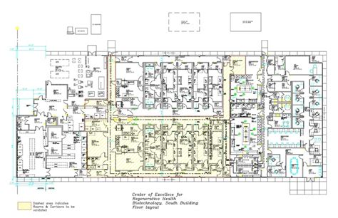 drug rehabilitation center floor plan cerhb center of excellence for regenerative health