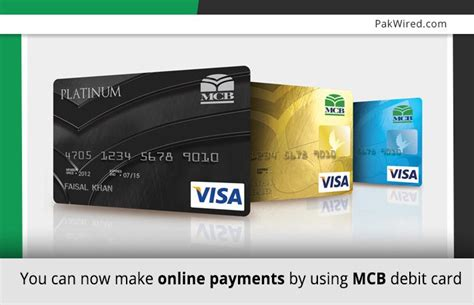 how to make bank card you can now make payments by using mcb debit card