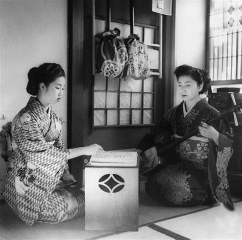 imagenes antiguas japonesas fotos antiguas de las geishas japonesas de la ii guerra