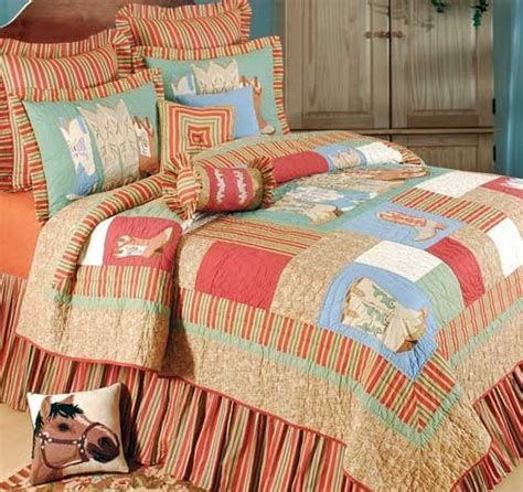 discount western bedding vintage boots quilt and western bedding