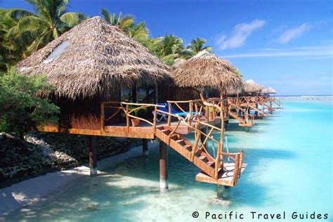 overwater bungalows cook islands pictures of aitutaki lagoon resort cook islands