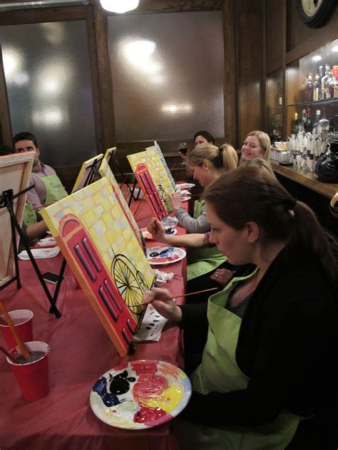paint nite kanata web exclusive paint nite brings rookie artists friends