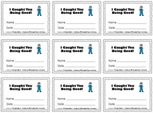 printable tickets for good behavior 9 best images of behavior reward tickets free printable