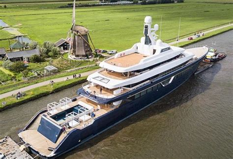 yacht lonian 87 metre superyacht lonian by feadship is going to the sea