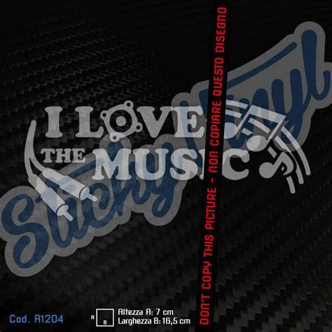 Musica X Auto Tuning by I Love The Music Adesivi Auto Tuning Stickers Jdm