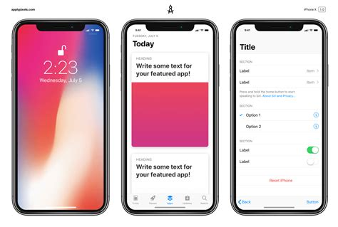 iphone x mockup strange house themes