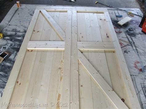 Faux Barn Doors How To Diy Faux Barn Doors Tiny House