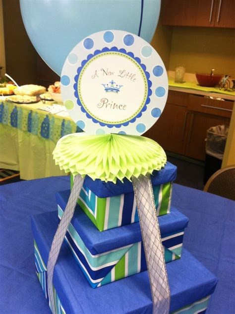 193 Best Baby Shower Ideas Images On Pinterest Baby Boy Prince Baby Shower Centerpieces
