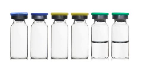 To Vacuum fill ease sterile vials