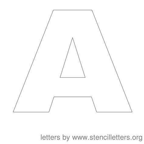 printable alphabet letters 3 inch 3 inch letter stencils printable letters font