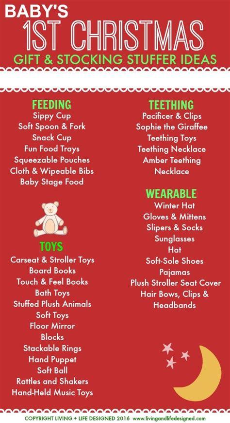 baby s 1st christmas gift stocking stuffer ideas