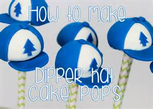 how to make gravity falls dipper s hat cake pops youtube