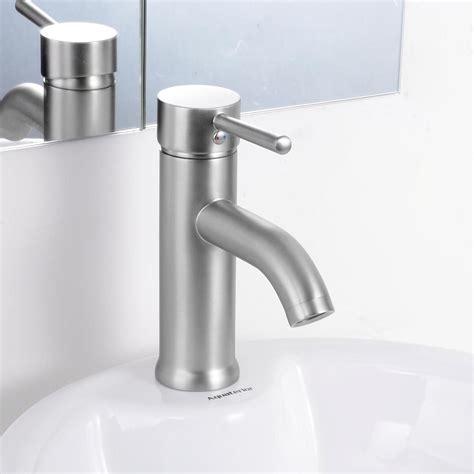 modern bathroom lavatory vessel sink faucet singleone handle opt ebay