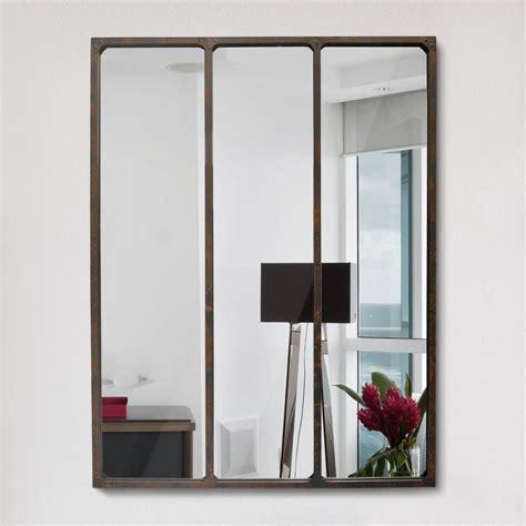 Miroir Style Industriel miroir effet verri 232 re style industriel 90x120 l 233 on by drawer
