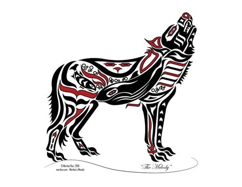 haida tattoo animal meanings new haida tlingit wolf native american art tlingit