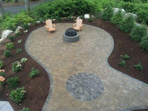 belgard patio and pit