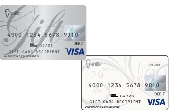 White Label Gift Cards - vanilla visa 174 gift card