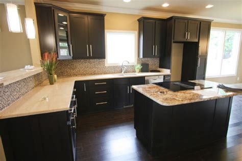 kitchen cabinets dark shaker craftsmen network