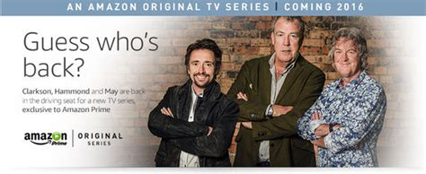 amazon top gear jeremy clarkson richard hammond and james may to present