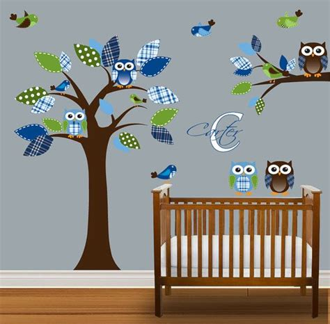 nursery wall stickers for boys boys nursery tree decal vinyl wall stickers tree by
