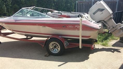 sea ray boats outboard motors sea ray outboard 1988 for sale for 4 500 boats from usa