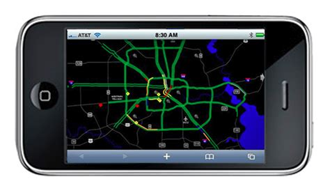 houston traffic map iphone guest post web on the iphone techblog