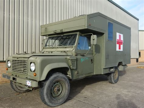 land rover defender ambulance for sale land rover 130 defender wolf lhd ambulance ex for