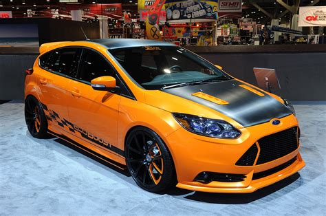 custom ford focus st ford focus st makes presence known with five custom cars