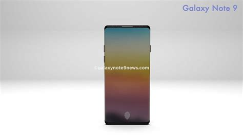 Samsung Note 9 galaxy note 9 in display fingerprint sensor more details revealed galaxy note 9