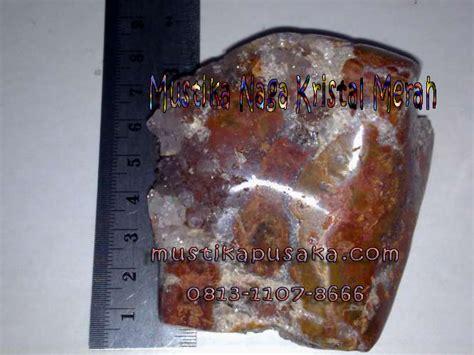 Mustika Khodam Naga Merah aneka batu koleksi mustika naga merah batu