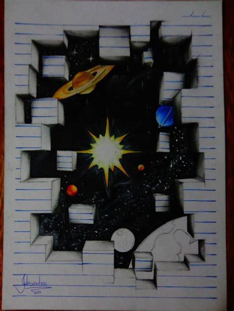 Kreasi Kreatifku Kertas Gelombang keren inilah teknik menggambar 3d gambar seperti keluar dari kertas cerpin
