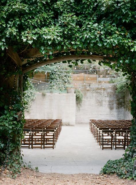 outdoor wedding ceremony ideas 3 organic ceremony backdrop inspiration