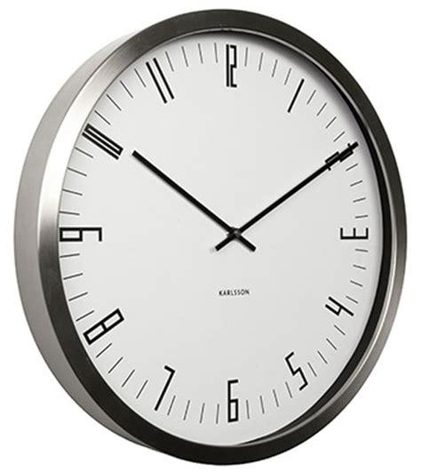 Uhr Karlsson by Karlsson Ka5612wh Wanduhr Bei Uhren4you De