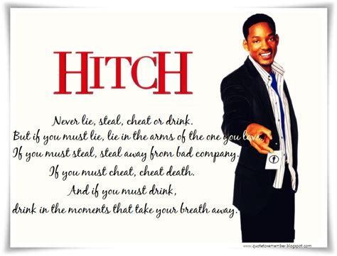 hitch quotes like i always tell my clients begin each day as if it