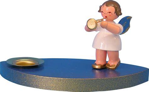 kerzenhalter 7 cm kerzenhalter engel mit trompete 7cm uhlig
