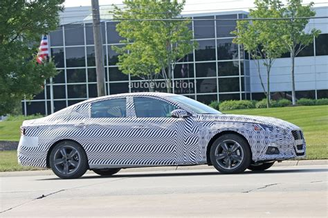 nissan altima inside spyshots 2019 nissan altima shows interior model targets