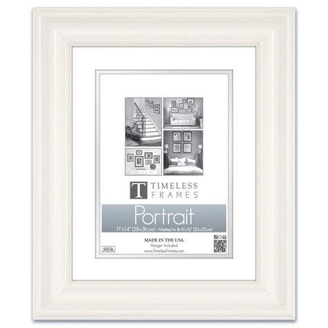 11 X 15 Matted Frame by Timeless Frames 1 Opening 11 In X 14 In White