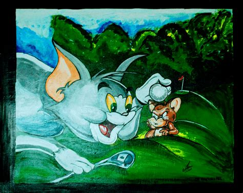 tom and jerry painting y8 tom and jerry s wall painting kalaraag