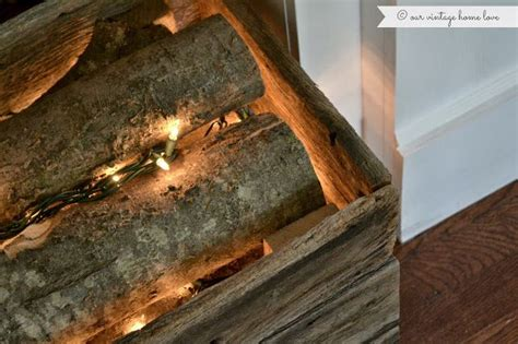 fake fireplace logs with lights 17 best images about faux fireplaces on pinterest