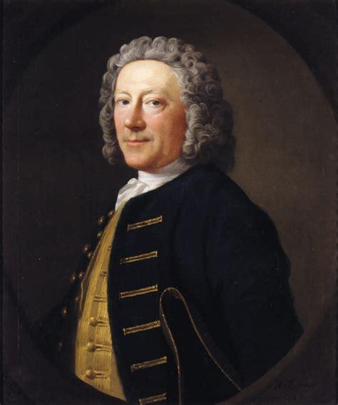 allan ramsay portrait of a naval officer 1747 allan ramsay wikiart org