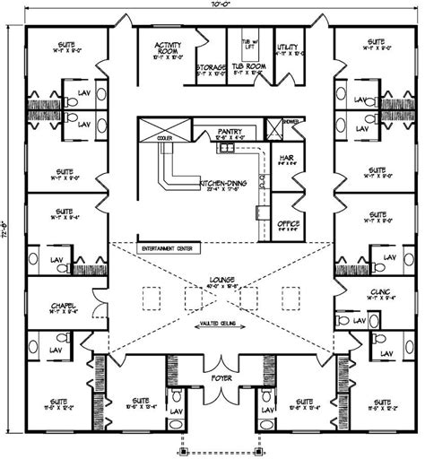 Nursing Home Floor Plan by Care Home Gt Nelson Homes Floor Plans Search Results