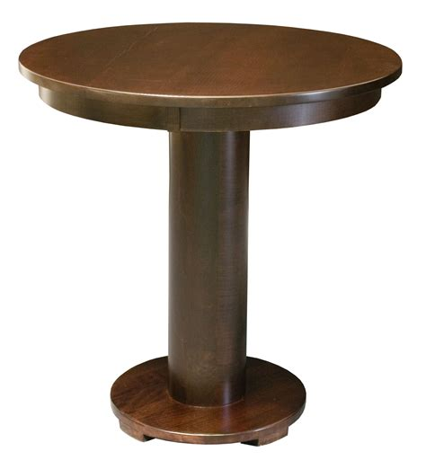 Barrel Bistro Table with Barrel Bistro Table Amish Handmade Furniture