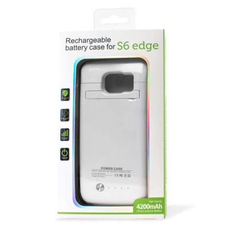 Power Bank Samsung Galaxy S6 samsung galaxy s6 edge power bank 4 200mah white