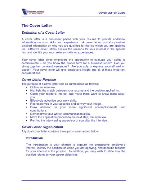 What Is The Meaning Of A Cover Letter cover letter definition crna cover letter